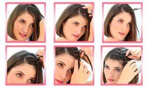 peinados de fiesta pelo corto