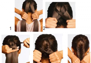peinados fáciles para nochevieja