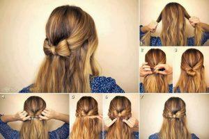 Peinados media melena nochevieja