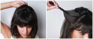 peinados media melena paso a paso