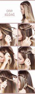 peinados para nochevieja pelo largo