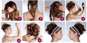 peinados pelo largo facil
