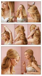 peinados pelo largo faciles