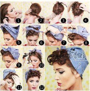 Tipos de peinados pin up