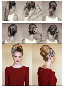 peinados pin up pelo largo