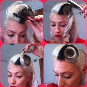 peinados pin up sencillo