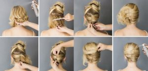 peinados sencillos para nochevieja
