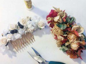 peinados de novia accesorios