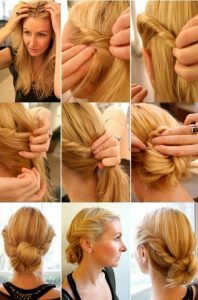 peinados para nochevieja media melena