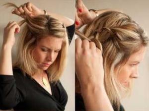 peinados pelo suelto paso a paso