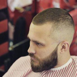 corte de pelo hombre rapado