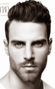 corte de pelo hombres triangular