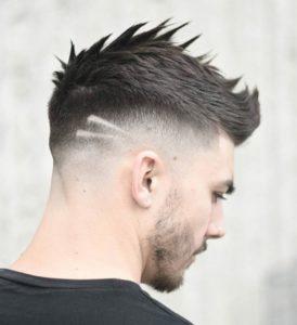 Resultado de imagen de corte de pelo dos rayas