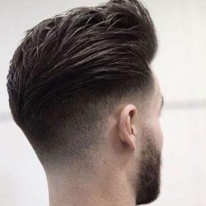 Cortes de cabello grafilado en v