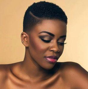 cortes de pelo corto afro