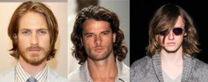 cortes de pelo media melena hombres