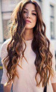 Look para cabello ondulado mujeres