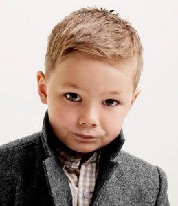 corte de pelo para niños escolar
