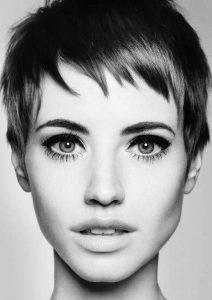 cortes de pelo con flequillo corto