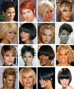 cortes de pelo con flequillos