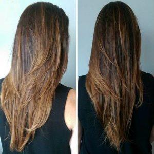 cortes de pelo en capas paso a paso