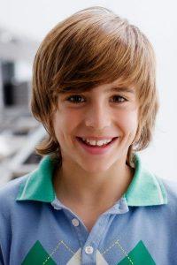 cortes de pelo para niños con rostro alargado