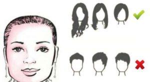 cortes rostros redondos