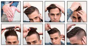 Corte de cabello garzon paso a paso