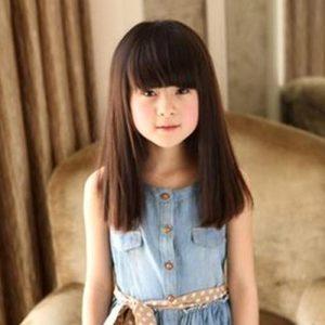 cortes de pelo recto para niñas