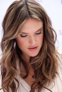 cortes de pelo con raya en medio