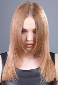 cortes de pelo largo con la raya en medio