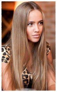 cortes de pelo largo sin flequillos